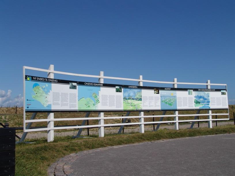 Infotavler Onsevig Klimapark